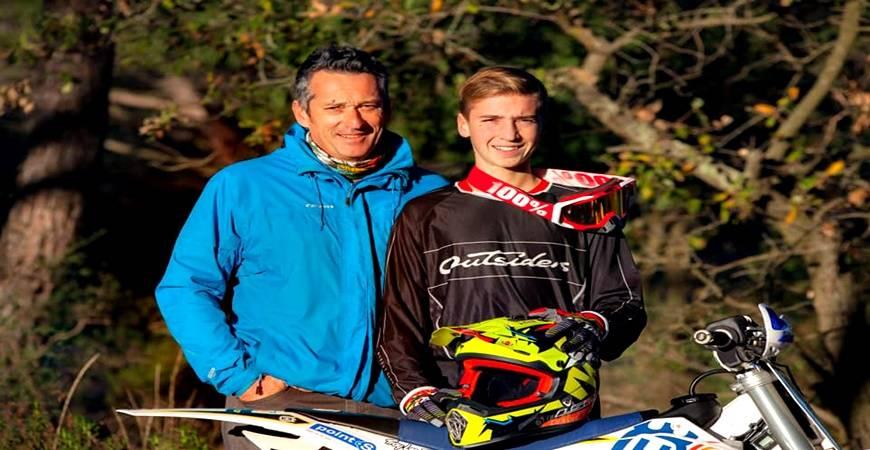 Charles DESAMY, jeune pilote moto. une nouvelle aventure de sponsoring sportif