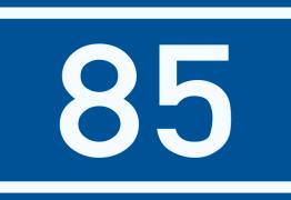85 décibels...