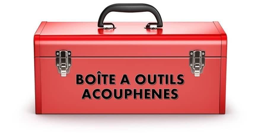 """""""La boîte à outils Acouphènes"""""""