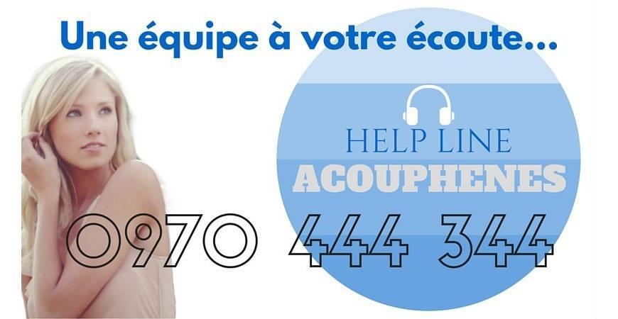 Une Helpline à votre écoute pour oser parler de vos acouphènes...